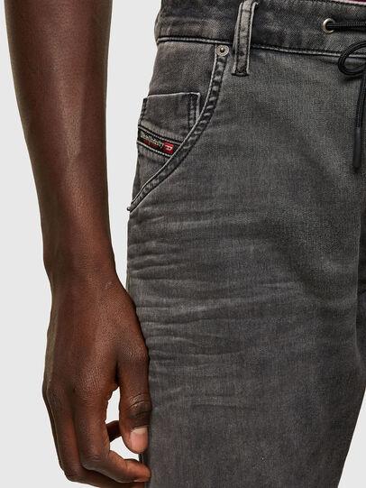 Diesel - Krooley JoggJeans® 069SY, Nero/Grigio scuro - Jeans - Image 3