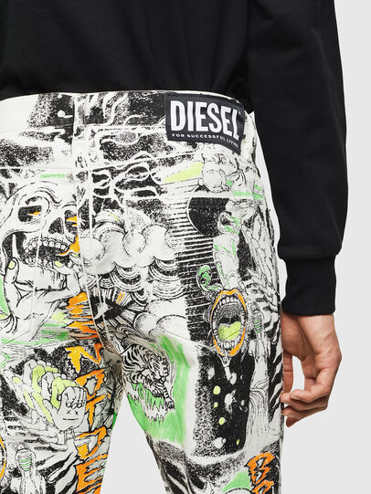 Diesel - D-Macs 069KS, Bianco - Jeans - Image 3