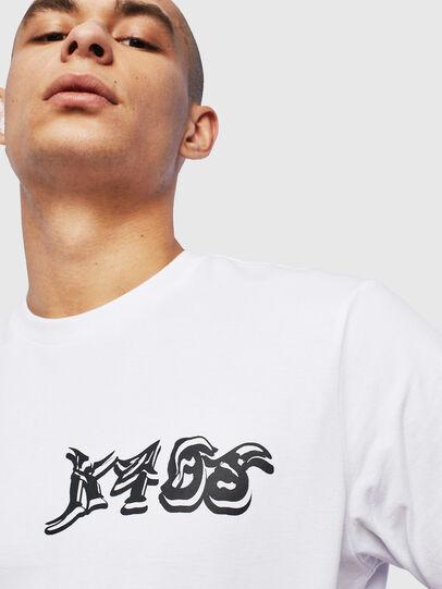 Diesel - T-JUST-T31, Bianco - T-Shirts - Image 3