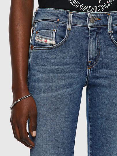 Diesel - D-Ollies JoggJeans® 069XA, Blu medio - Jeans - Image 3