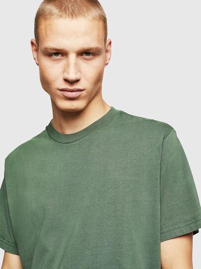 Diesel - T-THURE, Verde - T-Shirts - Image 4