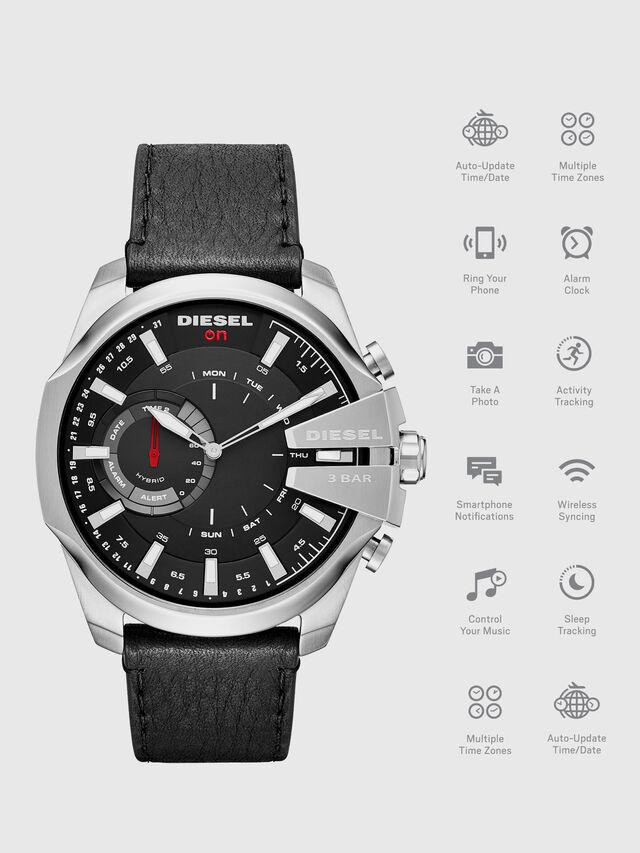 Diesel - DT1010, Nero - Smartwatches - Image 1