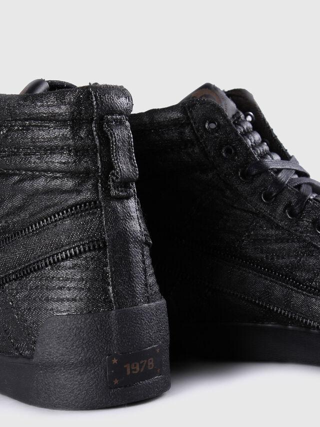 Diesel - D-STRING PLUS, Nero Cuoio - Sneakers - Image 6