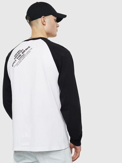 Diesel - T-RODDI, Bianco/Nero - T-Shirts - Image 2