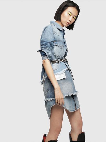 Diesel - DE-DESY-P, Blu Jeans - Vestiti - Image 3