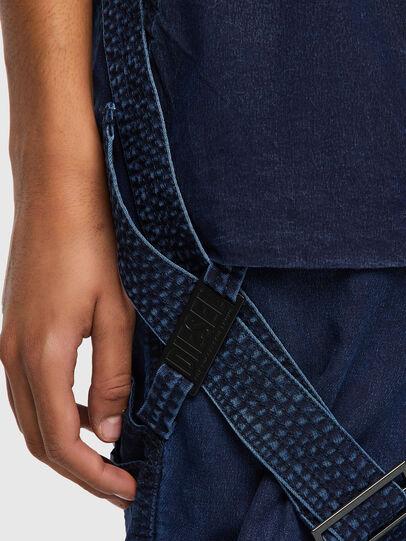 Diesel - D-Fedry JoggJeans® 0CBBZ, Blu Scuro - Jeans - Image 4