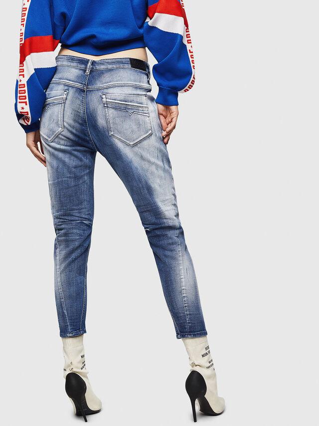 Diesel - Fayza JoggJeans 0870N, Blu medio - Jeans - Image 2