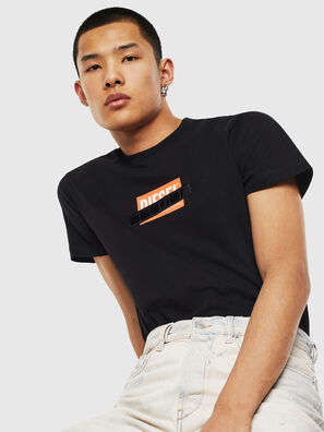T-DIEGO-S7, Nero - T-Shirts
