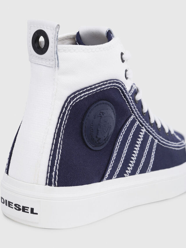 Diesel - S-ASTICO MID LACE W, Blu/Bianco - Sneakers - Image 4