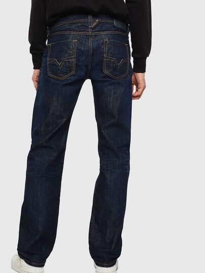 Diesel - Larkee 0806W, Blu Scuro - Jeans - Image 2