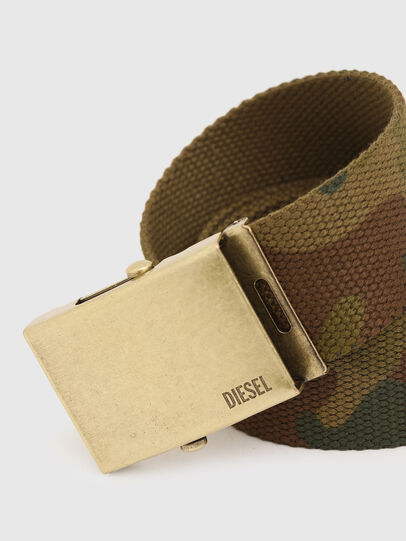 Diesel - B-COMBA, Verde Camo - Cinture - Image 2
