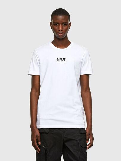 Diesel - T-DIEGOS-SMALLOGO, Bianco - T-Shirts - Image 1
