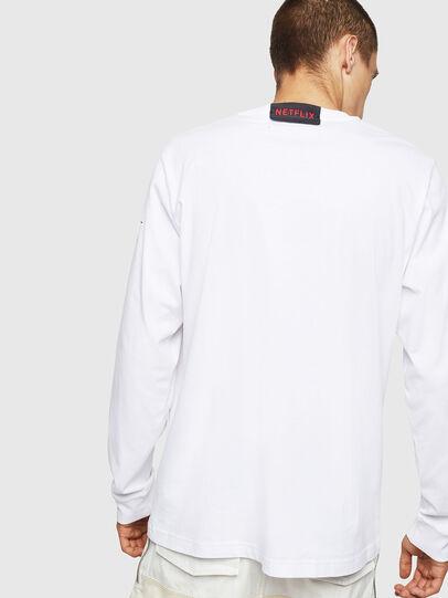 Diesel - LCP-T-JUST-LS-DENVER, Bianco - T-Shirts - Image 3