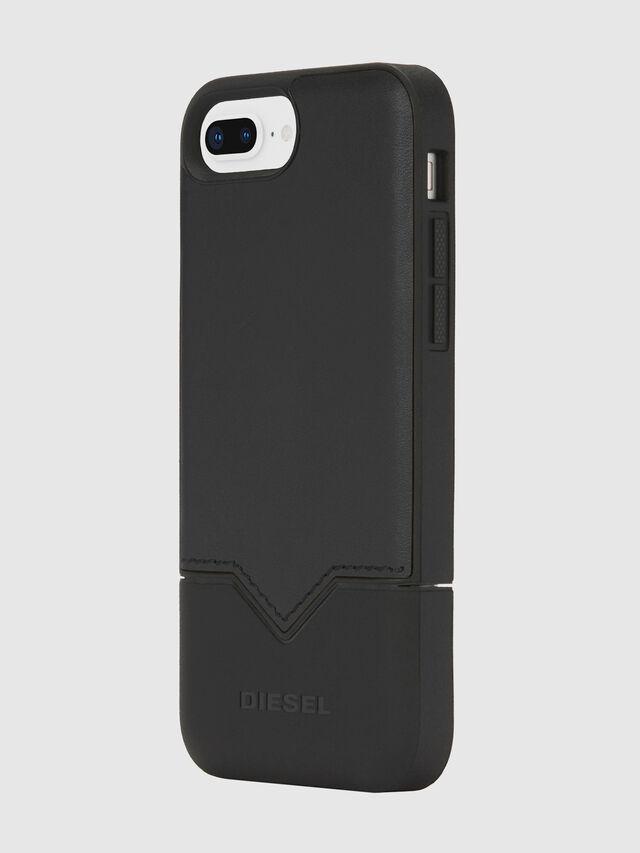 Diesel - CREDIT CARD IPHONE 8 PLUS/7 PLUS/6S PLUS/6 PLUS CASE, Nero - Cover - Image 3