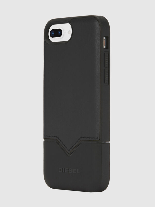Diesel - CREDIT CARD IPHONE 8 PLUS/7 PLUS/6S PLUS/6 PLUS CASE, Nero - Cover - Image 3