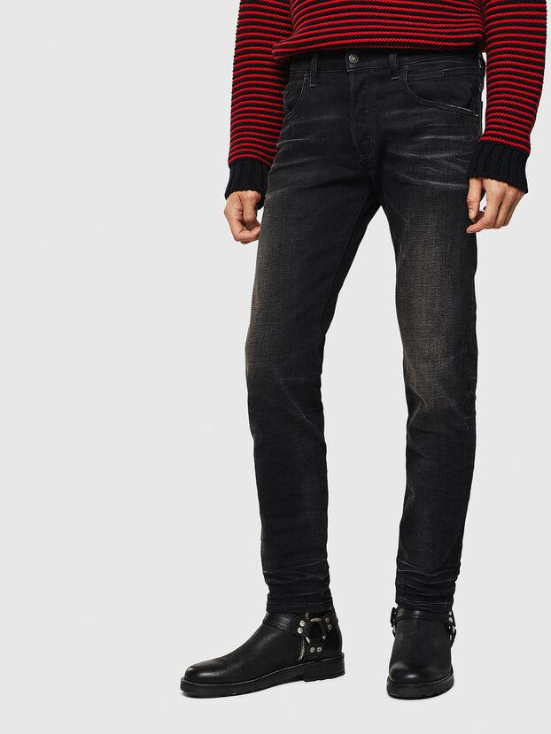 D-Bazer 0098B, Nero/Grigio scuro - Jeans