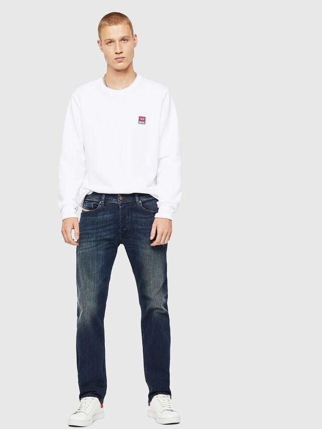 Diesel - Waykee 0814W, Blu Scuro - Jeans - Image 6
