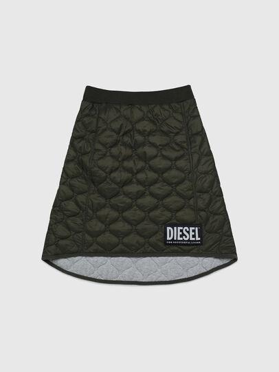 Diesel - GLIBI, Verde Militare - Gonne - Image 1