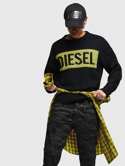 Diesel - K-LOGOX-C, Nero - Maglieria - Image 4