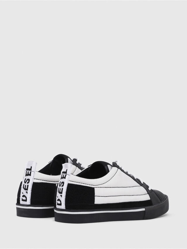 Diesel - D-VELOWS LOW PATCH, Nero/Bianco - Sneakers - Image 3