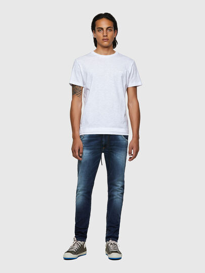 Diesel - T-RONNIE, Bianco - T-Shirts - Image 4