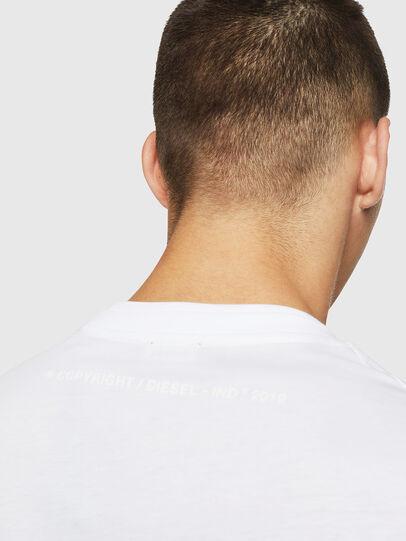 Diesel - T-LAZAREV, Bianco - T-Shirts - Image 4