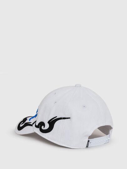 Diesel - DRIBALE, Bianco - Cappelli - Image 2