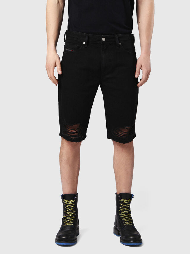THOSHORT, Nero Jeans