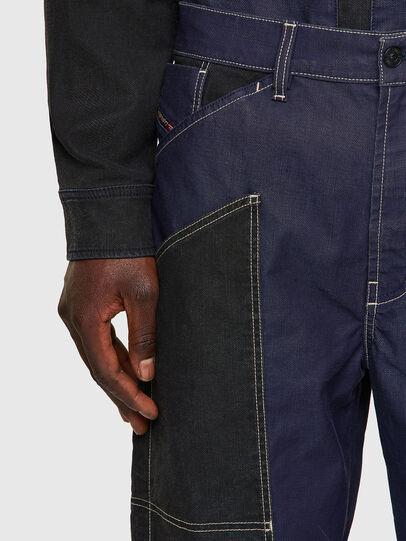 Diesel - D-Franky JoggJeans® 0EEAW, Blu Scuro - Jeans - Image 4