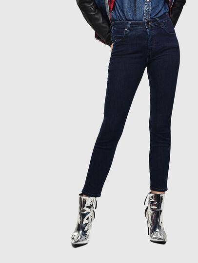 Diesel - Babhila 0096R, Blu Scuro - Jeans - Image 1