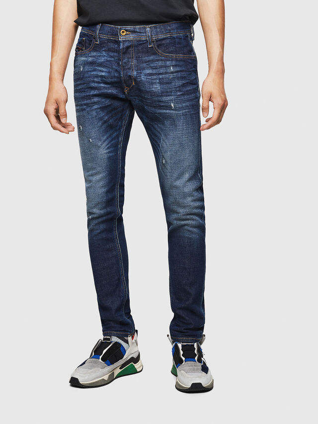Diesel - Tepphar 087AT, Blu Scuro - Jeans - Image 1