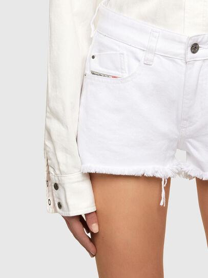 Diesel - DE-RIFTY, Bianco - Shorts - Image 4