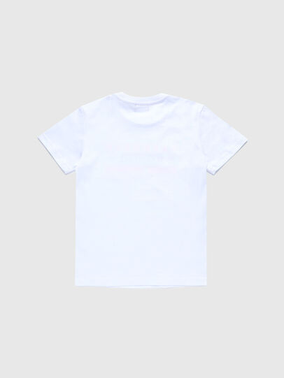 Diesel - TDIEGOSK32, Bianco - T-shirts e Tops - Image 2
