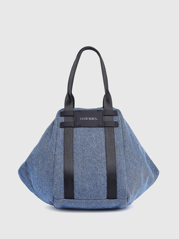 CAGE SHOPPER XS, Blu Jeans - Borse