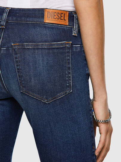 Diesel - D-Jevel 09A30, Blu Scuro - Jeans - Image 5