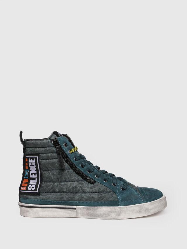 Diesel - D-VELOWS MID PATCH, Verde Acqua - Sneakers - Image 1