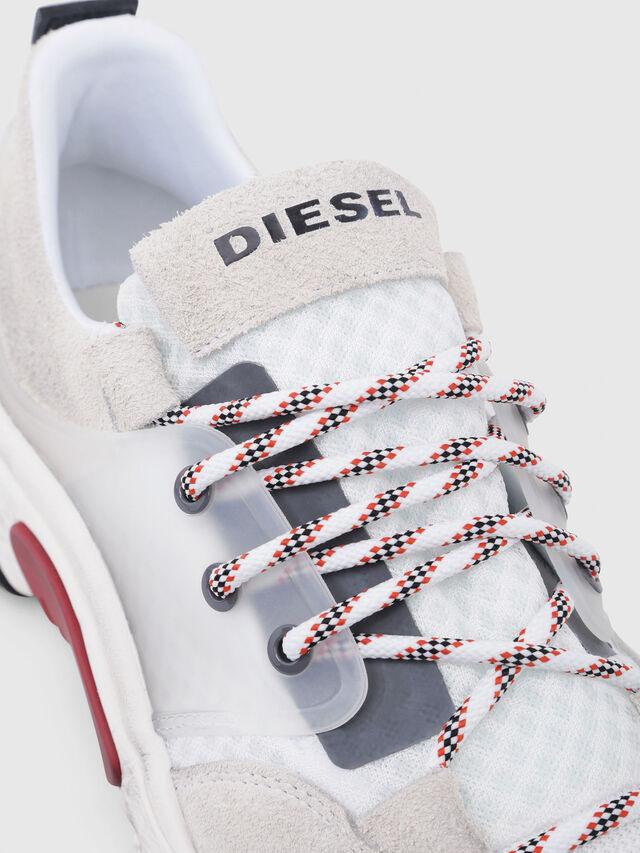Diesel - S-KIPPER LOW LACE, Bianco - Sneakers - Image 4