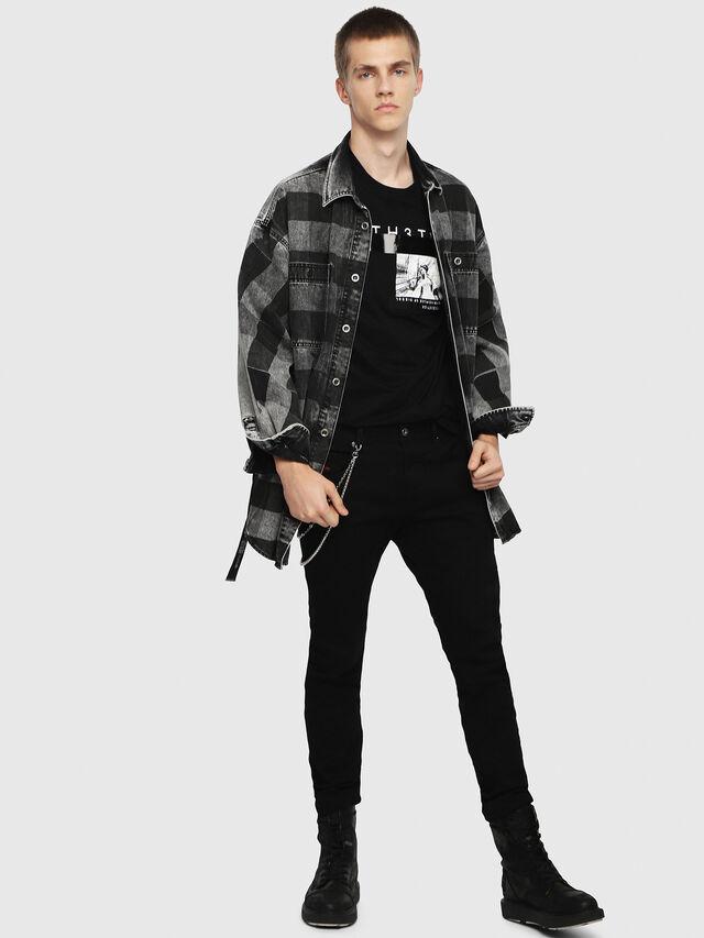 THOMMER 0688H, Nero Jeans