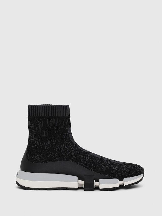 Diesel - H-PADOLA MID SOCK, Nero - Sneakers - Image 1