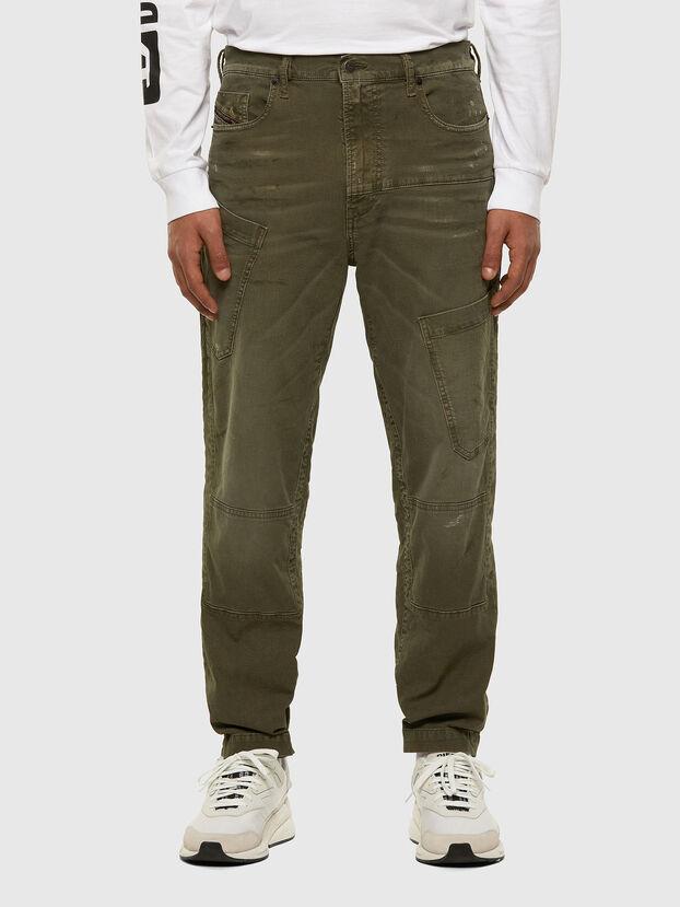 D-Azzer JoggJeans 069NF, Verde Militare - Jeans