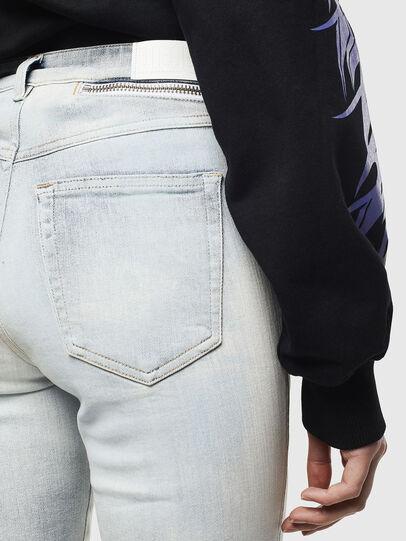 Diesel - Babhila High 009AX, Blu Chiaro - Jeans - Image 5
