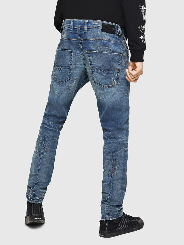 Diesel - Krooley JoggJeans 069HG, Blu medio - Jeans - Image 2