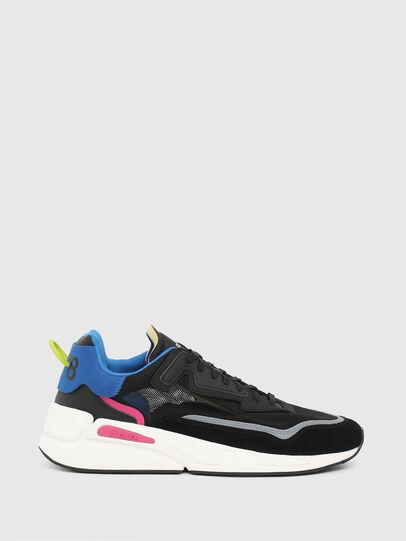 Diesel - S-SERENDIPITY SM, Nero/Blu - Sneakers - Image 1