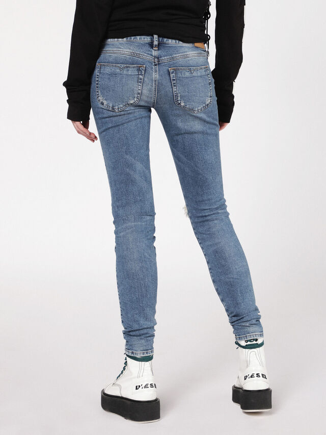 Diesel - Gracey 069AI, Blu medio - Jeans - Image 3