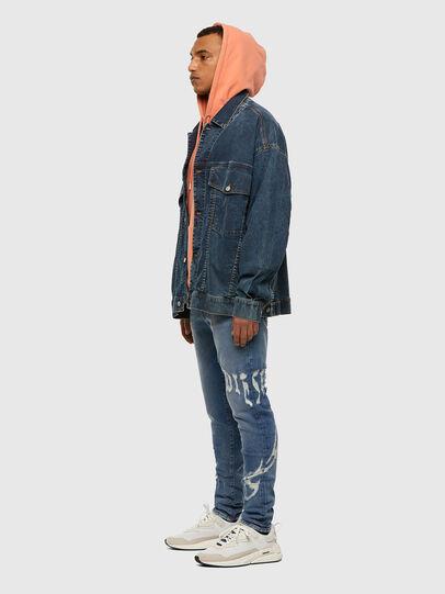 Diesel - D-Strukt 009DW, Blu Chiaro - Jeans - Image 7