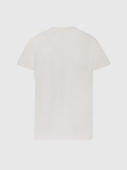 Diesel - T-DIEGOS-X45, Bianco - T-Shirts - Image 2