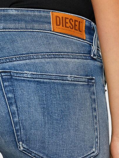 Diesel - Slandy Low 009JI, Blu Chiaro - Jeans - Image 4