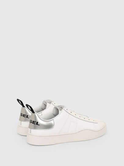 Diesel - S-CLEVER SO W, Bianco/Argento - Sneakers - Image 3