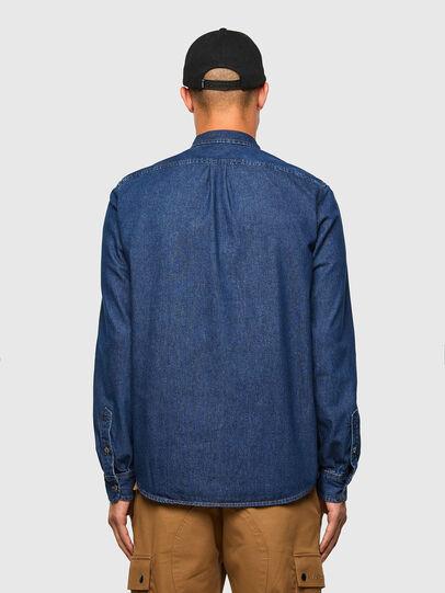 Diesel - D-BILLY, Blu Scuro - Camicie in Denim - Image 2