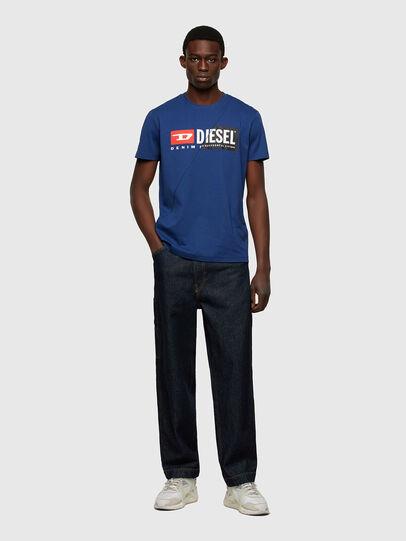 Diesel - T-DIEGO-CUTY, Blu - T-Shirts - Image 4